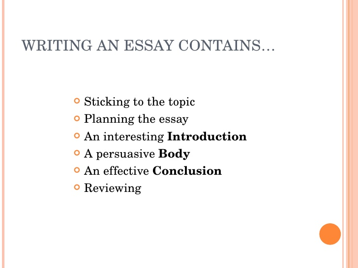 How To Write The Best Essays